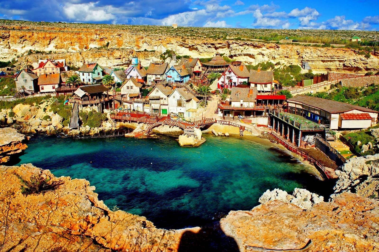Orașul Popeye, Malta