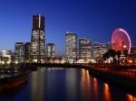 Orizontul din Tokyo este alcătuit din clădiri moderne