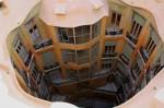 Partea interioară privită de pe acoperiş