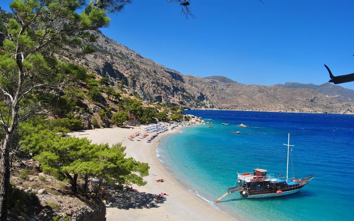Plajele din Creta sunt cea mai bună manieră de relaxare