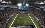 Stadionul Dallas Cowboys, arhiplin la fiecare meci al echipei locale, ăsta da devotament