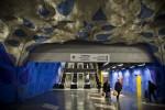 Staţie de metrou cu tematică din Stockholm