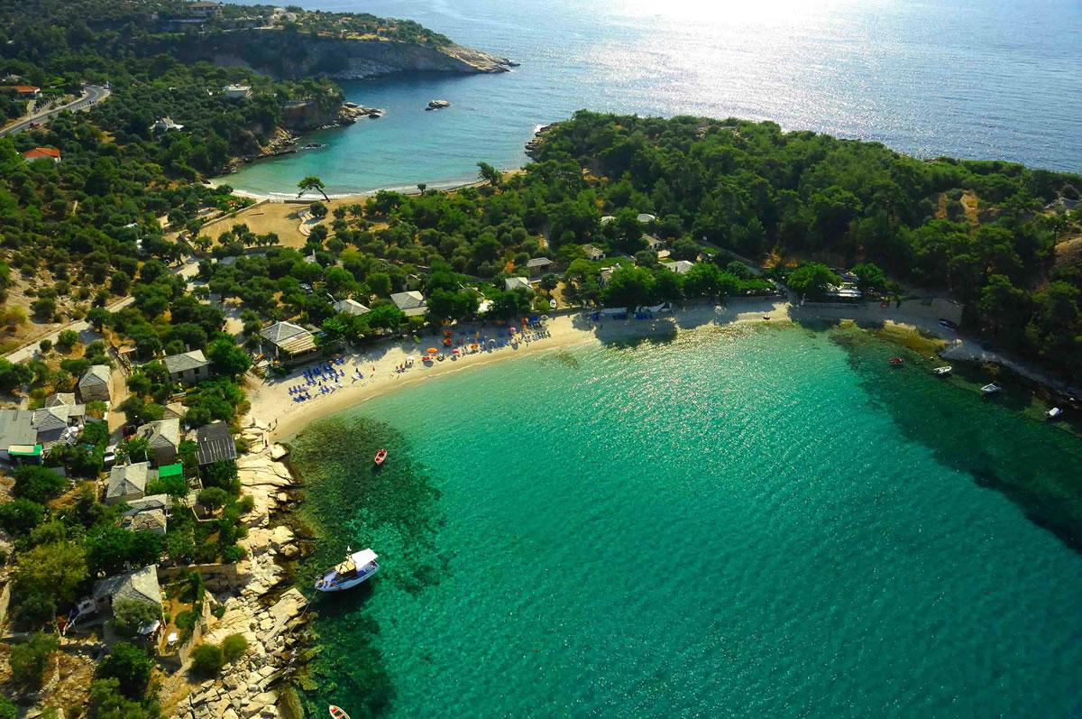 Thassos, insula de smarald a Greciei
