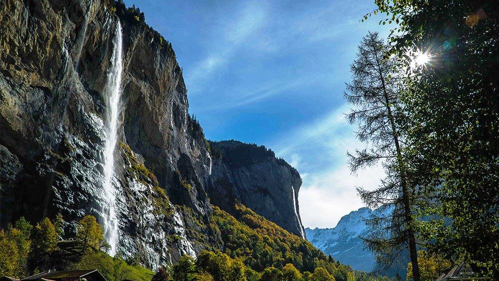 Valea Lauterbrunnen, Elveția