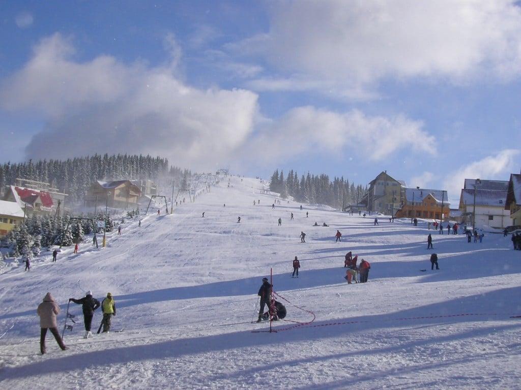 E timpul pentru schiuri
