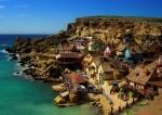 Zona de coastă a Maltei este înfrumusețată de construcțiile colorate