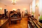 Exponate din Muzeul de instrumente muzicale din Poznan