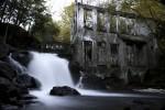 Moara abandonată, Quebec, Canada - una dintre cele mai căutate atracţii turistice ale zonei