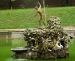 Fântâna lui Neptune, elemen central în Grădinile Boboli