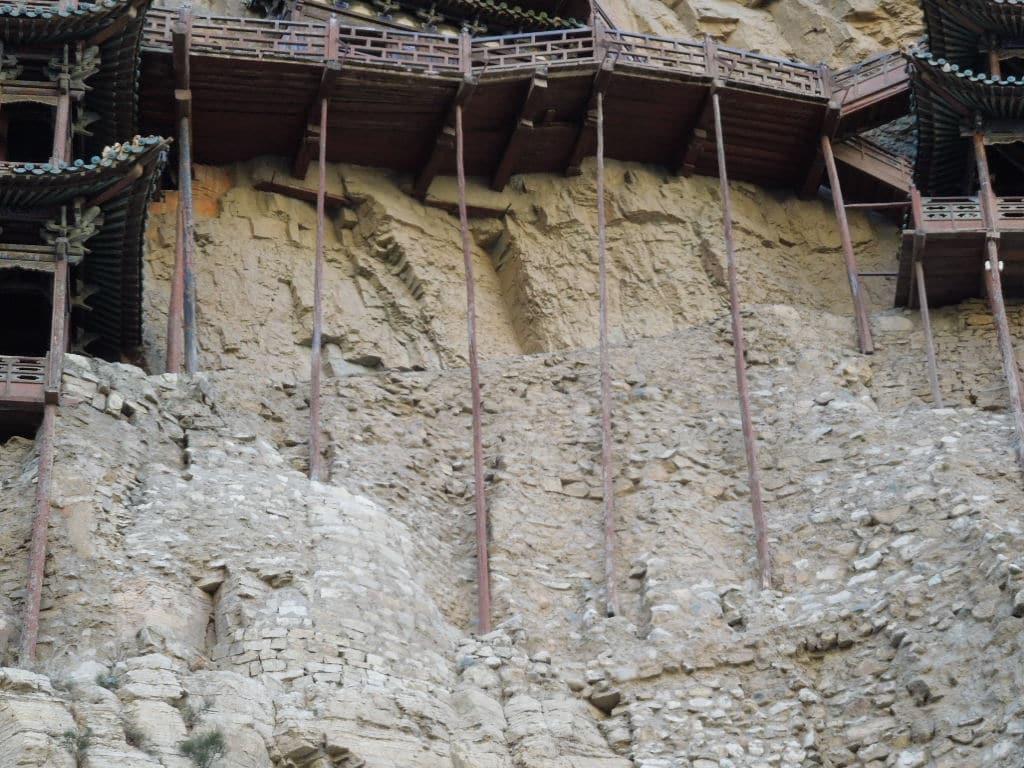Templul Suspendat din China, situat pe Muntele Heng