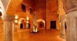 Obeliscul egiptean din curtea Palatului Gorka