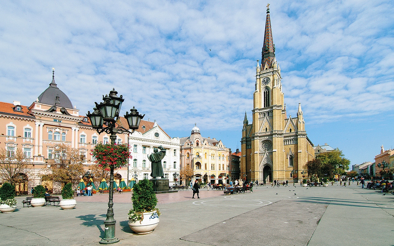 Novi Sad, Serbia - destinația ideală pentru un City Break relaxant