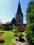 Câteva grădini impresionante înfrumusețează Castelul Hochosterwitz