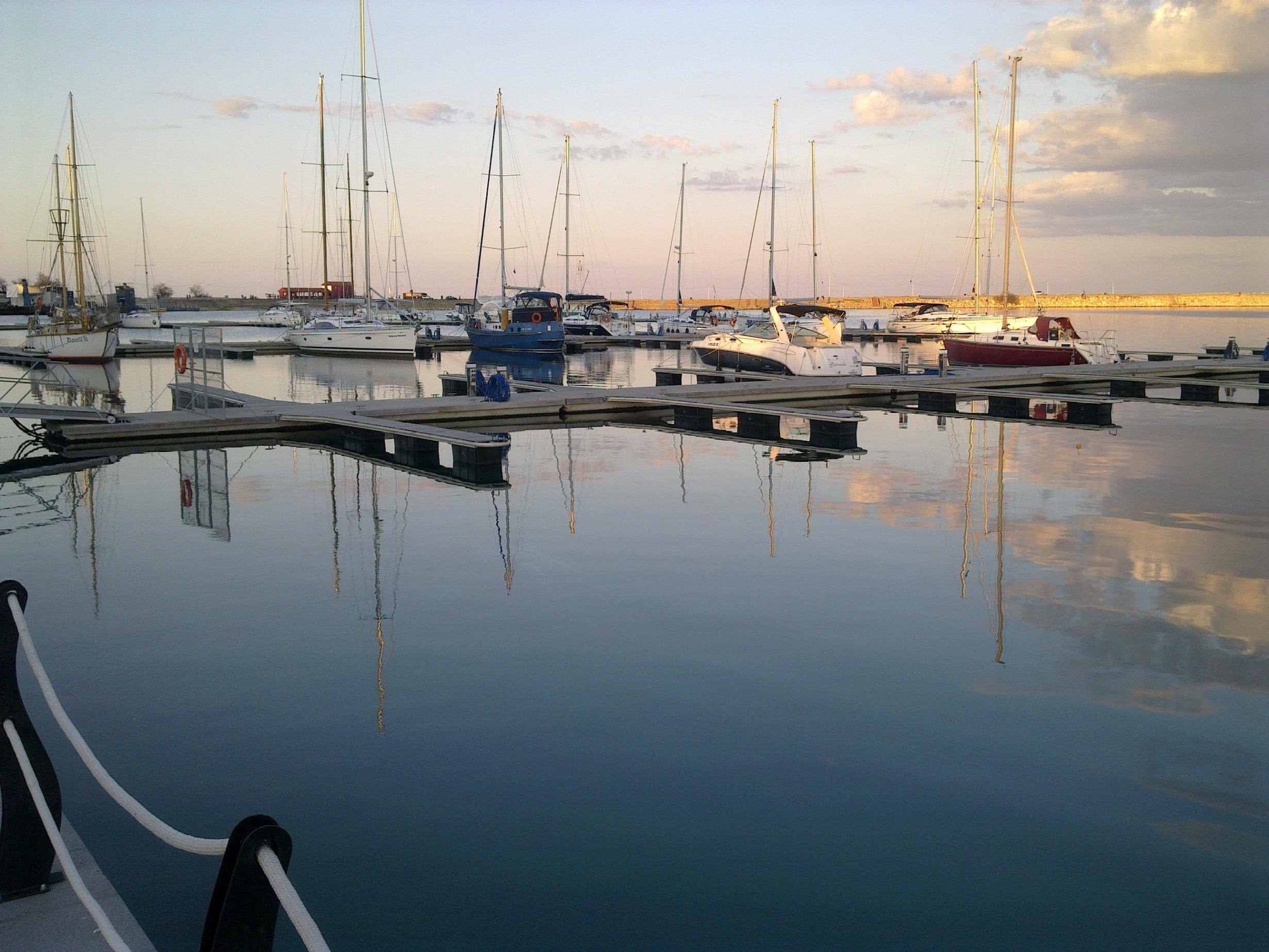 Cadrul natural al portului turistic Mangalia este absolut superb