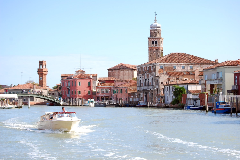 Demonstrație de fabricare a sticlei de Murano