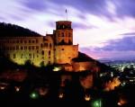 Castelul Heidelberg, noaptea