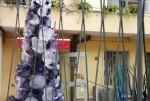 Magazin de prezentare a unui atelier, de unde poți cumpăra obiecte din sticlă de Murano