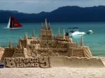 O adevărată operă de artă realizată din nisip