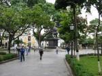 Plaza Bolivar, locul unde vizitatorii preferă să se plimbe ore întregi