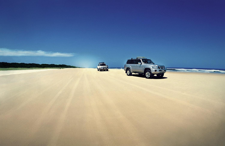 Insula Fraser, o imensitate de nisipuri fine