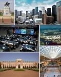 Principalele puncte de interes ale orașului într-un colaj atractiv