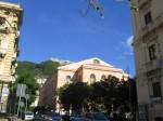 Teatru Verdi din Salerno, o construcție impresionantă, însă nici spectacolele care se joacă aici nu sunt rele