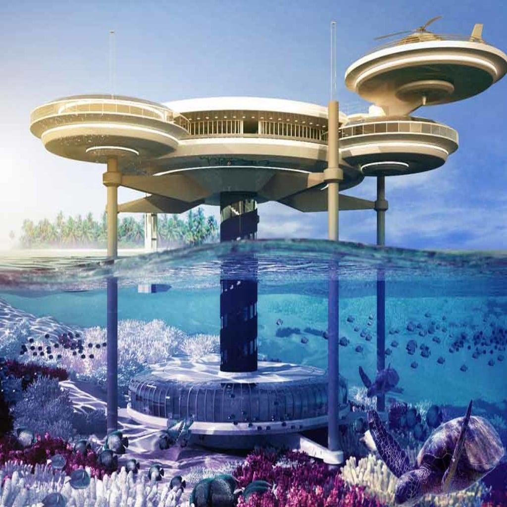 Water Discus, Dubai - Unul dintre cele mai spectaculoase hoteluri subacvatice din lume