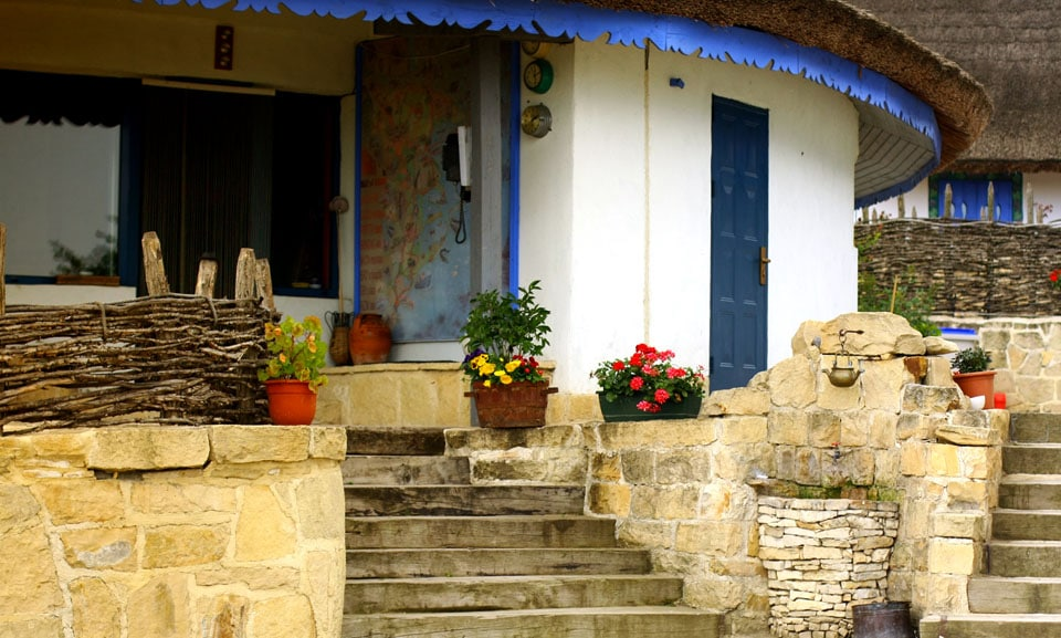 Satul de vacanță Enisala Safari Village