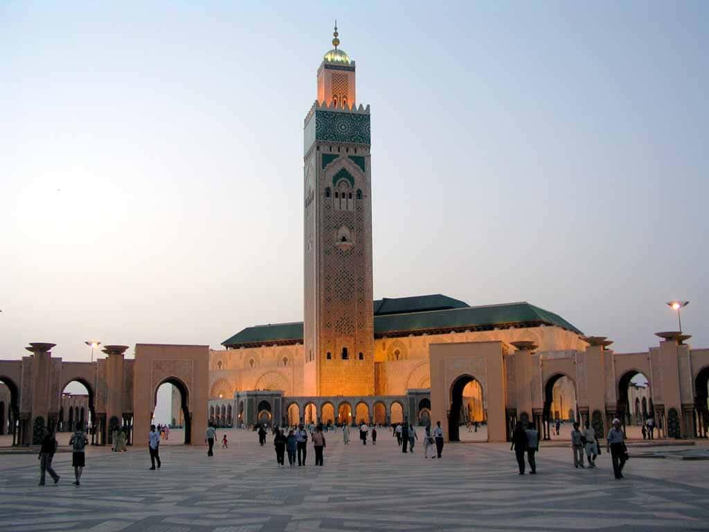 Plaja superbă din Casablanca