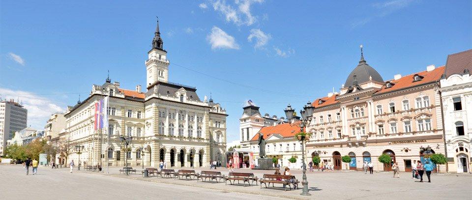 Novi Sad - capitala provinciei Voivodina, Serbia