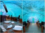 Ithaa Undersea Restaurant din Maldive este primul restaurant subacvatic din lume