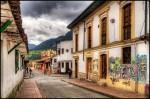 La Candelaria, cartierul cu străduțe înguste
