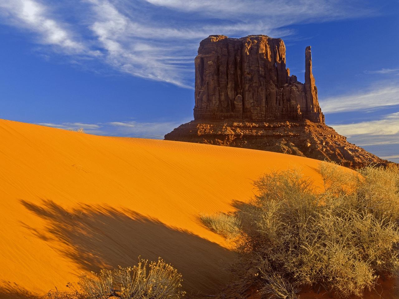 Cea mai înaltă structură din Valea Monumentelor nu depășește 300 de metri