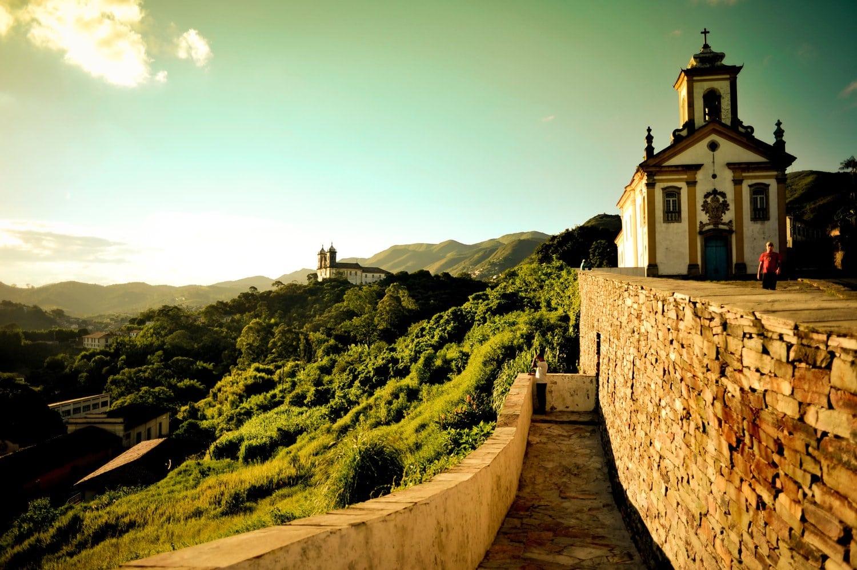 Apus de soare în Ouro Preto