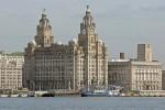 Clădirea Royal Liver cu cele două Liver Birds - Simbolul orașului Liverpool