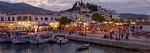 sudul Insulei Skiathos animat și plin de turiști
