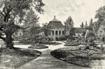 Parcul Castelului Wesselenyi amenajat în stil englezesc