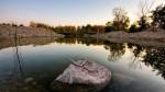 Calm absolut pe Lacul Ontario