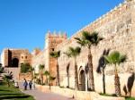 Este minunat să vizitezi clădirile vechi din Rabat