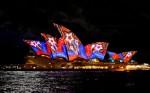 Casa Operei în timpul evenimentului Vivid Sydney