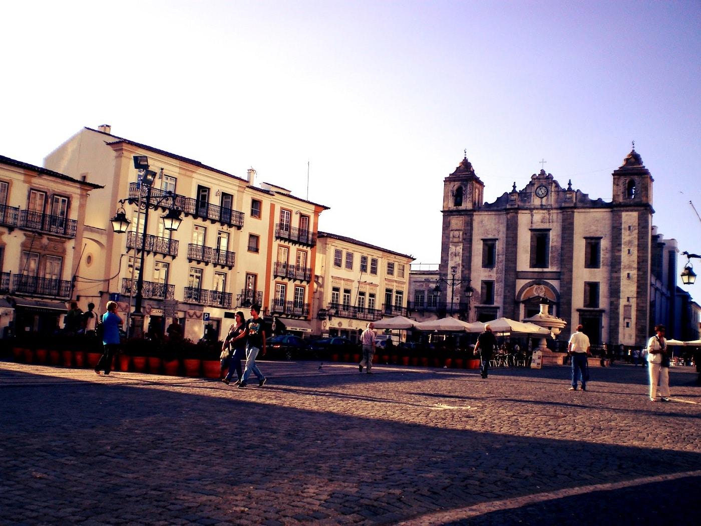 Evora, Portugalia