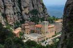 Mănăstirea Montserrat, vedere aerină
