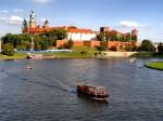 Multe ambarcațiuni străbat zi de zi apele Râului Vistula
