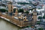 Palatul Westminster, vedere aeriană
