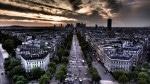 Panorama orașului văzută de pe Arcul de Triumf