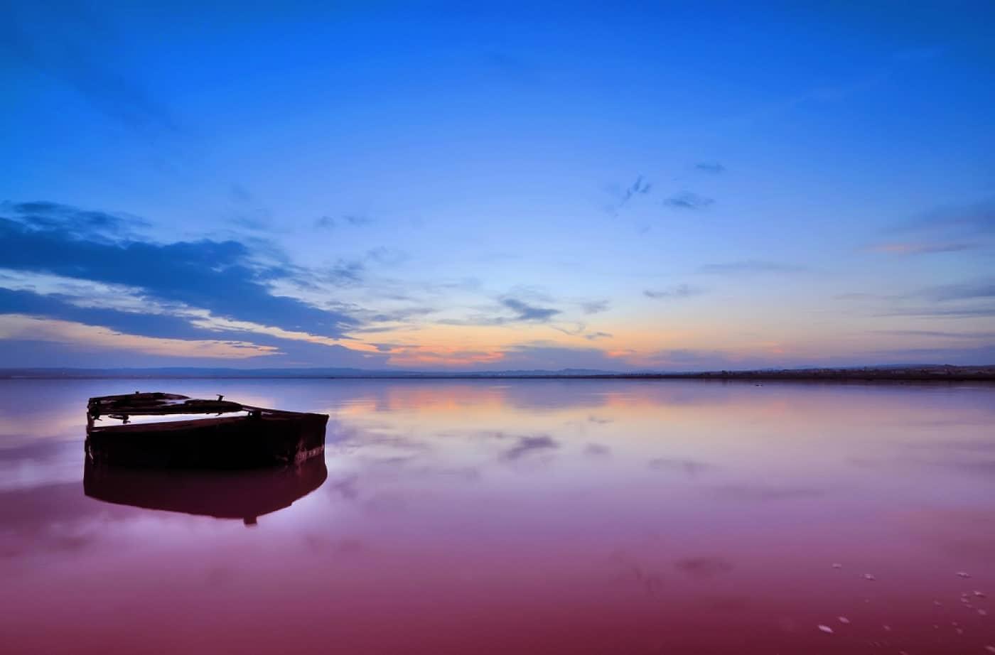 Lacul Hillier, Australia