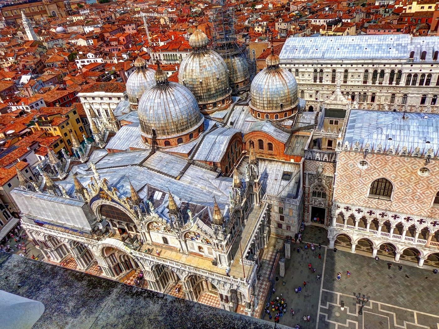Bazilica San Marco, vedere aeriană
