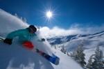 La ski pe crestele montane din Whistler Resort