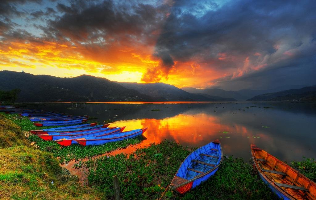 Lacul Phewa, Nepal