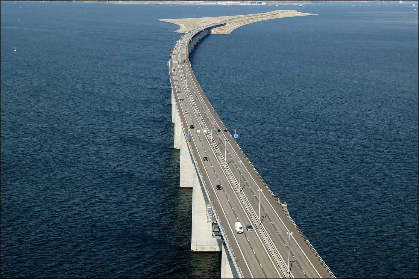 Podul Oresund, o construcție uimitoare!